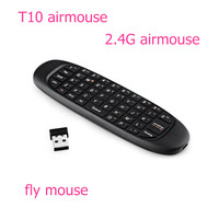 2.4G T10 mini wireless mini keyboard for android tv box