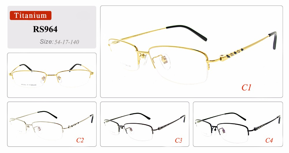 Pictures of optical frames titanium eye glasses
