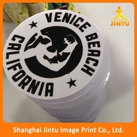 Die cut eco solvent printing window advertising decal sticker for car