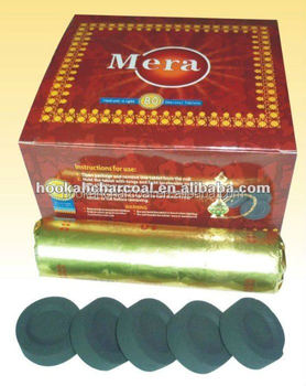 shisha charcoal 38mm from hookah charcoal factory