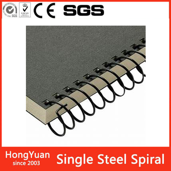 new stationery products Nylon Coated Single Loop Wire Spiral Binding