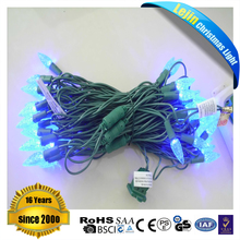 Ul Approved 17FT 25leds C6 Led String Light Waterproof Garden Holiday Xmas Decoration String Lighting