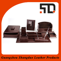 2015 Promotion Luxury MDF Desk Set