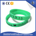 China factory new colorful silicone wristband wholesale