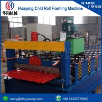 galvanized ibr roof sheet corrugated making machine rolling mill machinery for reinforced steel