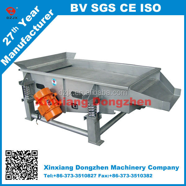 China xxsx hot linear vibrating screen from xinxiang dongzhen machinery