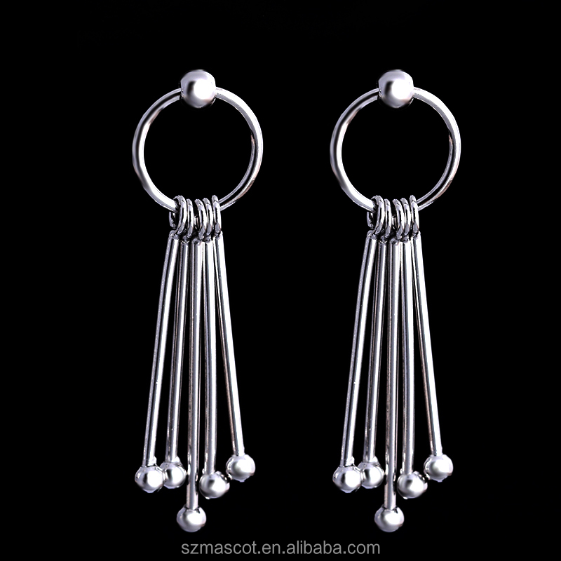 Fashion Long Linear Tassel Jewelry Earrings For Women
