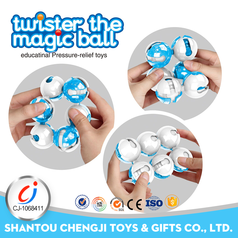 Newest plastic magic ball toy educational toys for kids