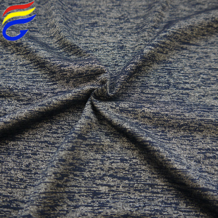 155cm*170gsm yarn dyed polyester rayon knit jersey stretched fabric