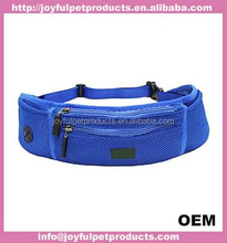 Running mesh Waist Pack Dog Treat Bag /Training Pouch with Multiple Zippered Pockets