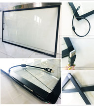 "10 point Infrared aluminum alloy Frame 55"" touch screen panel"