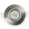 new gyro with real high quality led cob downlight reflector lens 9w IP44 83mm cut hole dimmable 2700k 3000k 4000k