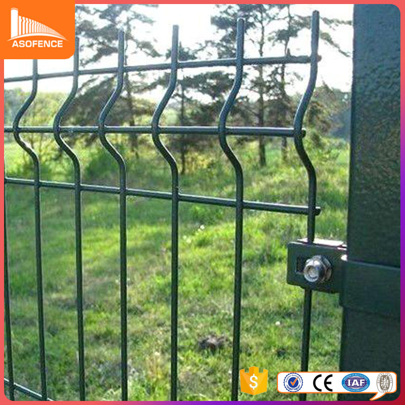 Customize farm fence galvanized wire 3d wire fold fence v type fence panles in cheap price