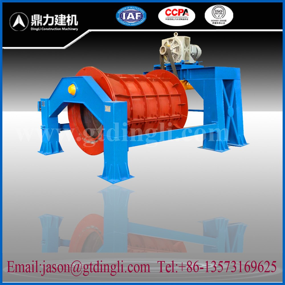 Concrete cement drainage tube pipe making machine