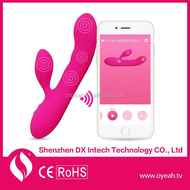 New G-Spot Waterproof Stimulator App Massager WiFi Free Shipping Rabbit Vibes Vibrator Sex Toy Pics Silicone Vibe