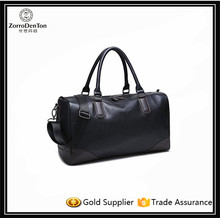 Compact Leather Duffle Bag Oversized Travel Bag Tote Luggage Bag Men