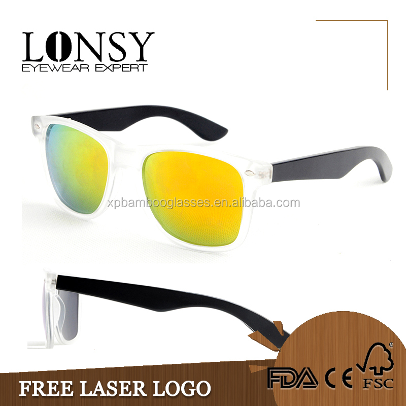 LS5003-C2 new product sunglass 2016 custom pc bamboo gafas de sol uv400