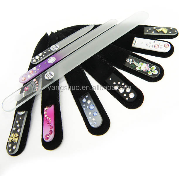 YS1180 hot sale wholesale glass nail files manufacture