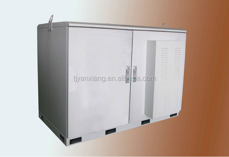 SK-30 spcc cold-rolled steel equipment rack/26U telecom cabinet/Electronic metal case with lock and cooling system