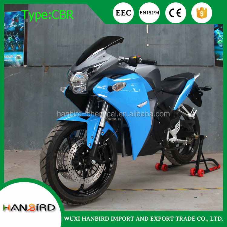 2017 cheap price 1000w to 3000w high speed racing motorcycle electric for cuba panama