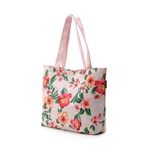 Elegant taste tote bag canvas handbag for women