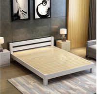solid wood healthy strong import pine chinese wooden bed