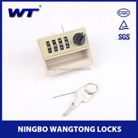 9502 combination lock for lockers with handle