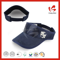 3D Embroidery visor cap with velcro CB110008