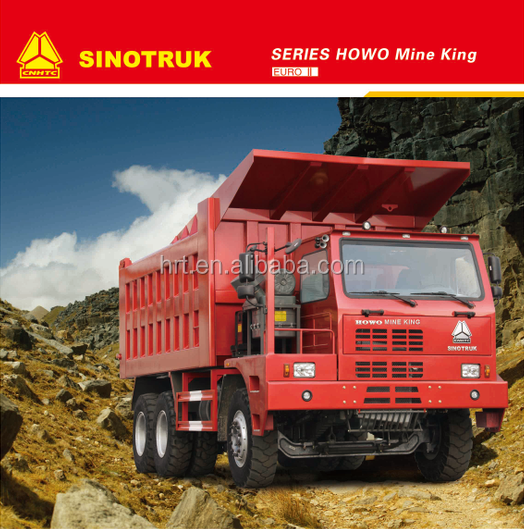 2017 sinotruk new style low price Howo 6*4 70 tons Mining dump truck for sale with free parts made in china
