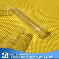 All kinds heat resistant quartz glass pipe