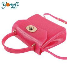 Candy Color Silicone Key Chain Silicon Bag