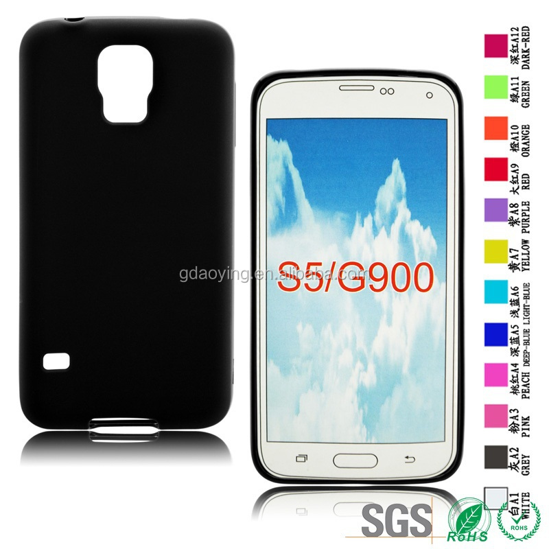 Matt TPU soft case wholesale flexible phone case for Samsung Galaxy S5 G900