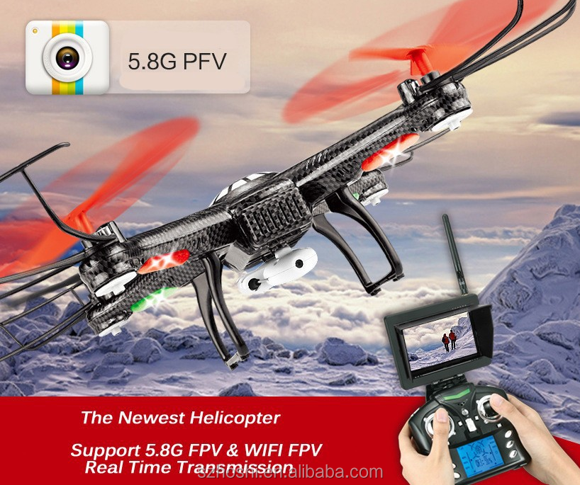 JJRC/WLtoys V686 RC Helicopter 4CH 6 Axis Drone RC Quadcopter with 720P HD Camera headless mode