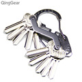 EDCGEAR Multifunctional Carabiner Stainless Steel Key Holder Organizer Clip screwdriver wrench