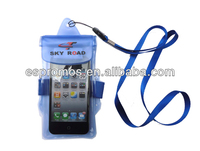 Eco-friendly waterproof case for iphone mobile phone and ipad