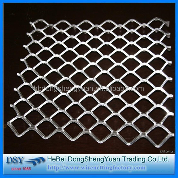 2016 China professional supplier of iron bbq grill expanded metal mesh/industrial expanded metal mesh