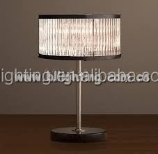 Hotel wholesale price crystal antique table lamp