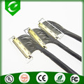 Coaxial lvds lcd cable assembly with I-pex 20455 for lcd monitor