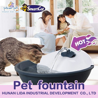 automatic feeder Pet Water Bowl & cat drinking fountain 60oz capacity
