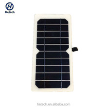 China manufacturer directly supply portable flexible solar panel 5w 5v with good price