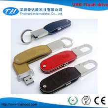 16GB twister leather USB Flash Drive / USB metal leather