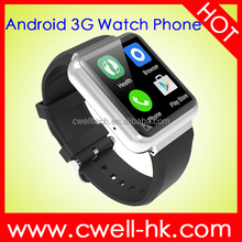 New Arrival 1.54 Inch Smart Q1 MTK6580 Quad Core 1GB RAM 8GB ROM WiFi GPS 3G Android Hand Watch Mobile Phone