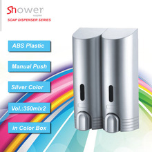 Wholesale SH-7625P ABS plastic panited 700ml wall mounted Manual liquid Soap Dispenser