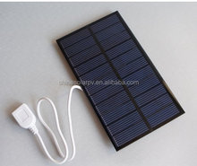 1.6w 5.5v USB Mini Solar Panel Module Solar System Solar Epoxy Charger DIY