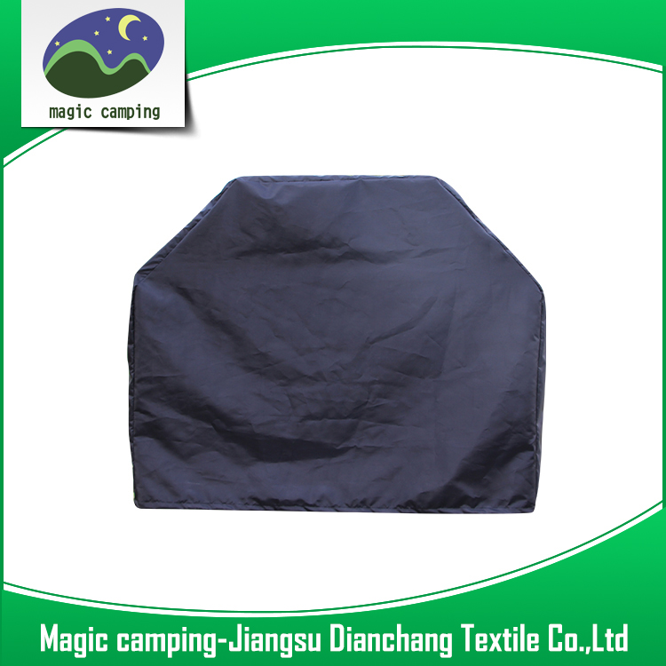 600D oxford PE coated waterproof anti-UV dustproof hot-sale wholesale bbq grill cover