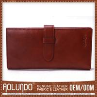 Factory direct wholesale leather card holder for credit card taveling passport holder best selling leather men wallet