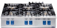 Professional Commercial Kitchen Catering 6 Burners Gas Range