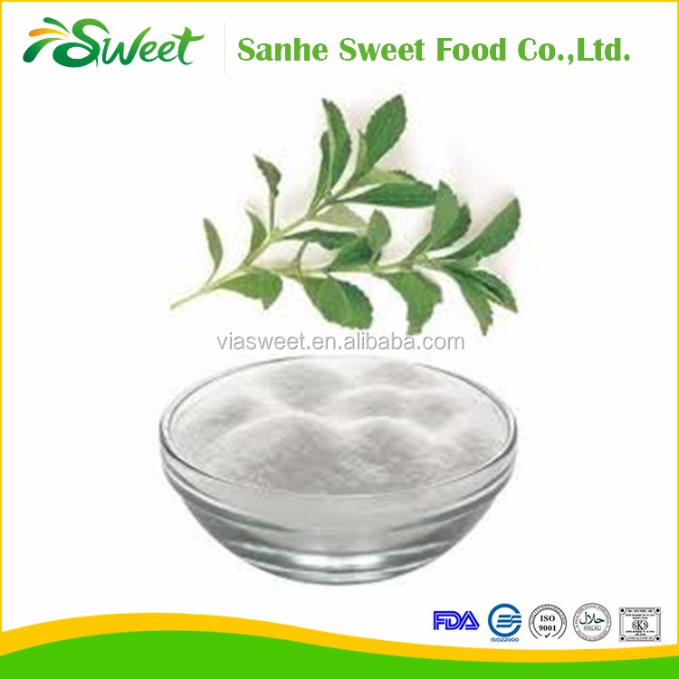 100% pure natural sweetener 97% rebaudioside A stevia leaf extract stevia extract RA97% with ISO KOSHER FDA