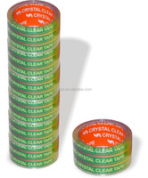 Super adhesive acrylic glue and strong BOPP film OPP duct tape awith SGS certificate