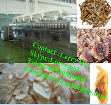 fruit drying machine/microwave drying sterilizer/meat dryer